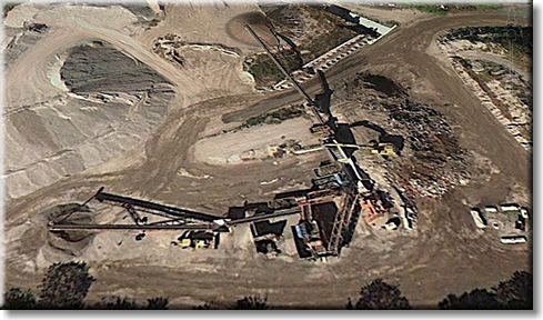 Industrial Aggregate Mixing Plant